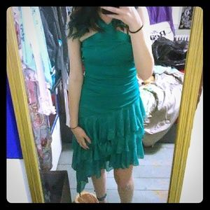 Dresses & Skirts - Turquoise sparkly dress